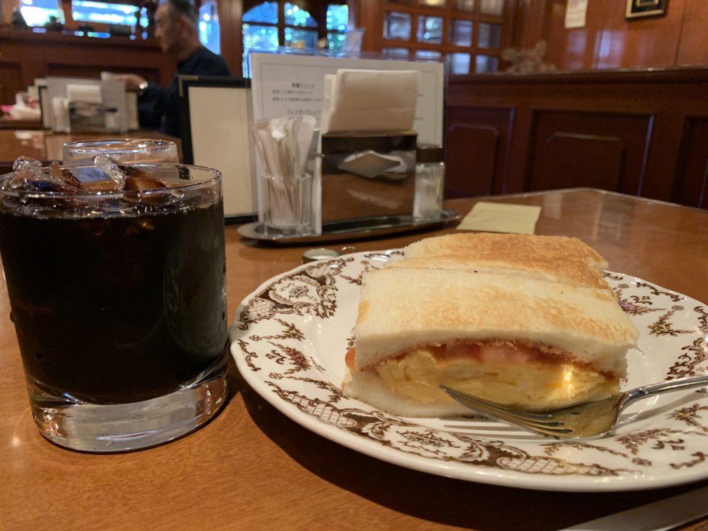 京都コーヒーショップヤマモトの自家焙煎コーヒーとフレンチトースト