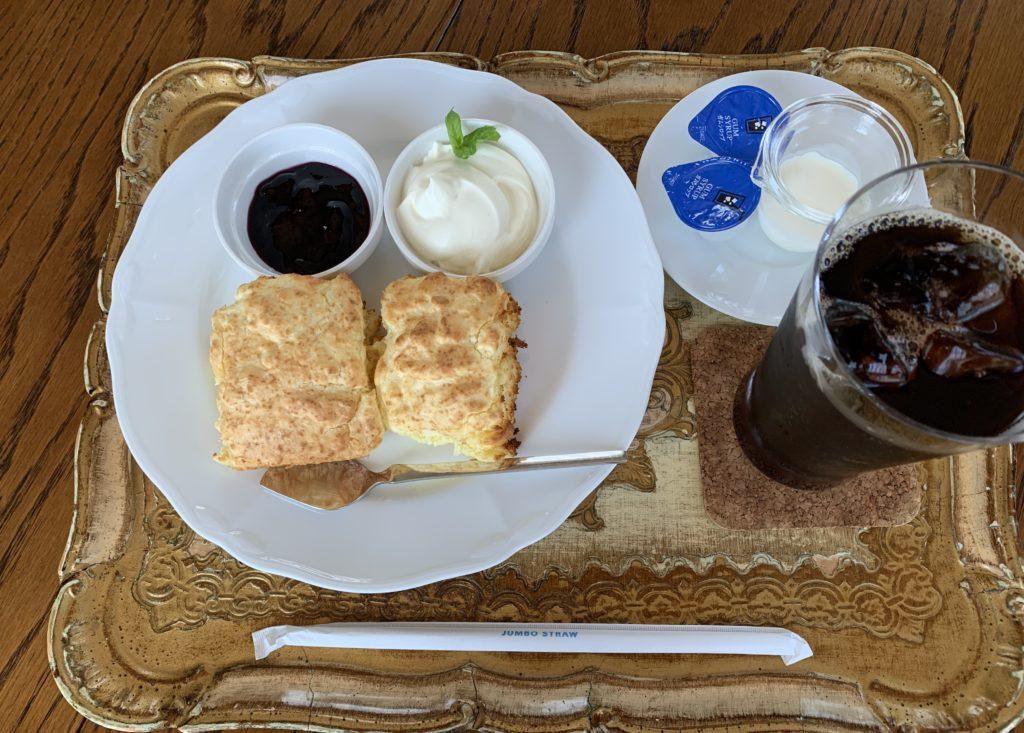 GOSPEL(ゴスペル) 京都カフェ スコーンと珈琲 Sweets Set