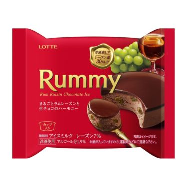 ラミーチョコアイスと洋酒チョコラミー&バッカスの発売日と期間限定はいつからいつまで?
